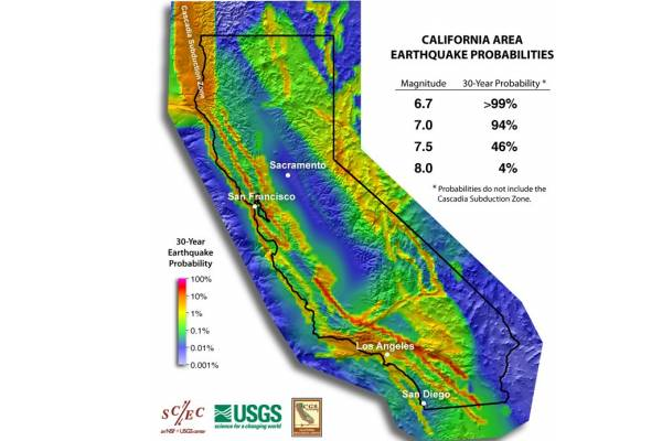 recent earthquakes in california. Recent California Earthquakes