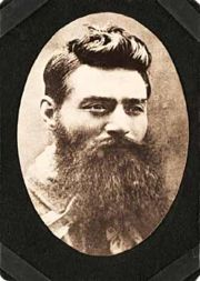 Photo: Ned Kelly, taken the day before he died. Credit: Public Domain (taken from the State Library of Victoria collection)