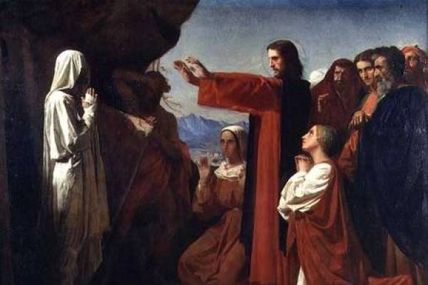 Image: Resurrection of Lazarus. Painting by Bonnat. Credit: Public Domain
