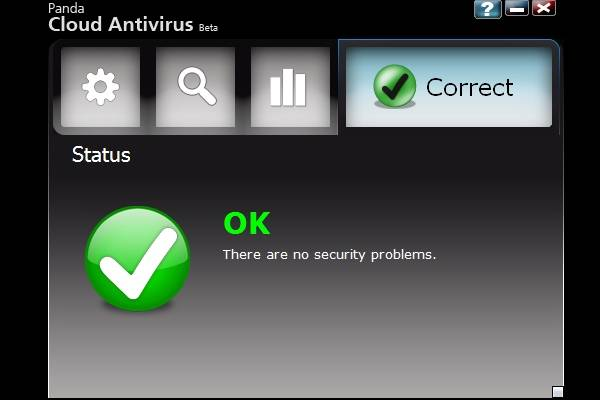 screenshot Panda Cloud Antivirus 1.4.00 2011 1