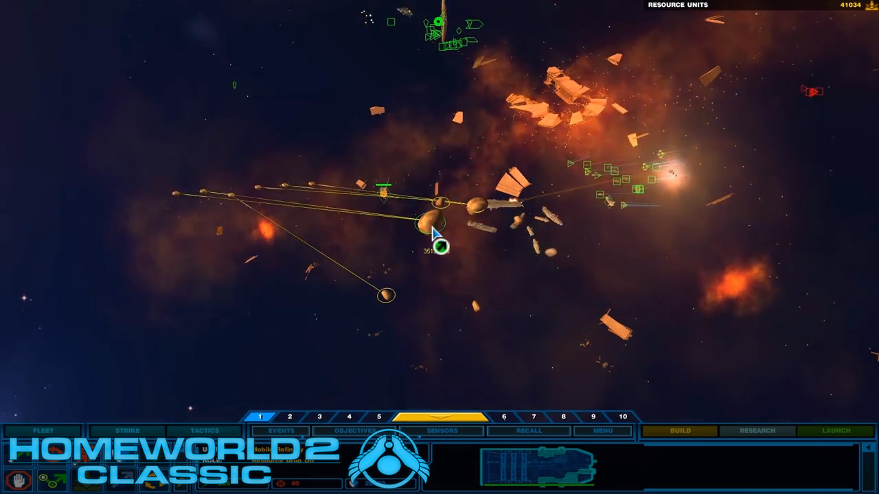 Homeworld Remastered Collection Classic