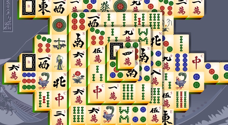 The classic Chinese game of Mahjong
