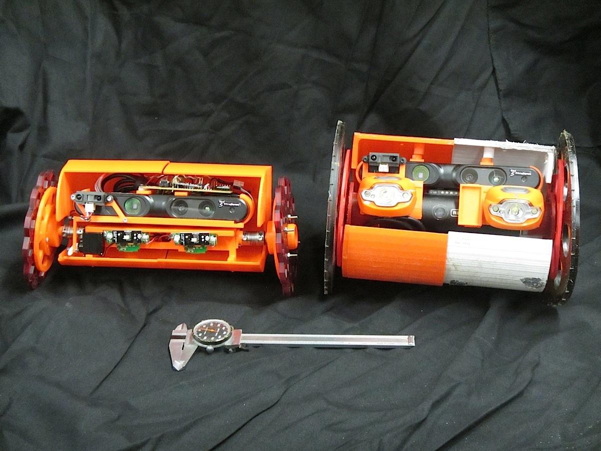 VolcanoBot 1 and VolcanoBot 2.