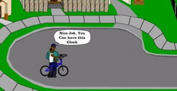 If you go down to the hood today...Happy Wheels mofo.