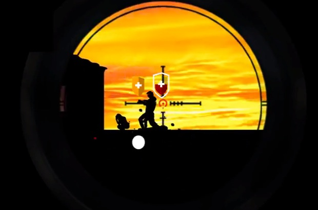 Zombies in your sights in Dawn of the Sniper.