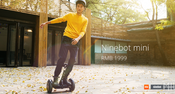 You Can Now Buy A Mini Segway For $315: The Ninebot Mini