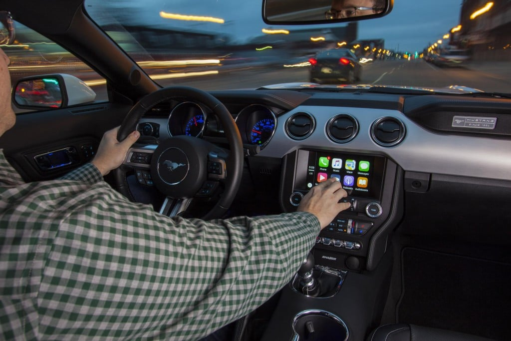 Ford adds support for Apple CarPlay and Android Auto
