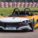 The VUHL 05RR's 600hp per tonne is more than the Bugatti Veyron