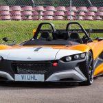 The VUHL 05RR's 600hp per tonne is more than the Bugatti Veyron