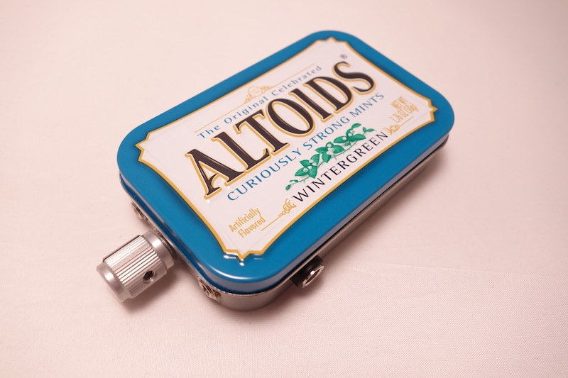 This guy makes headphone amps from Altoids mint tins