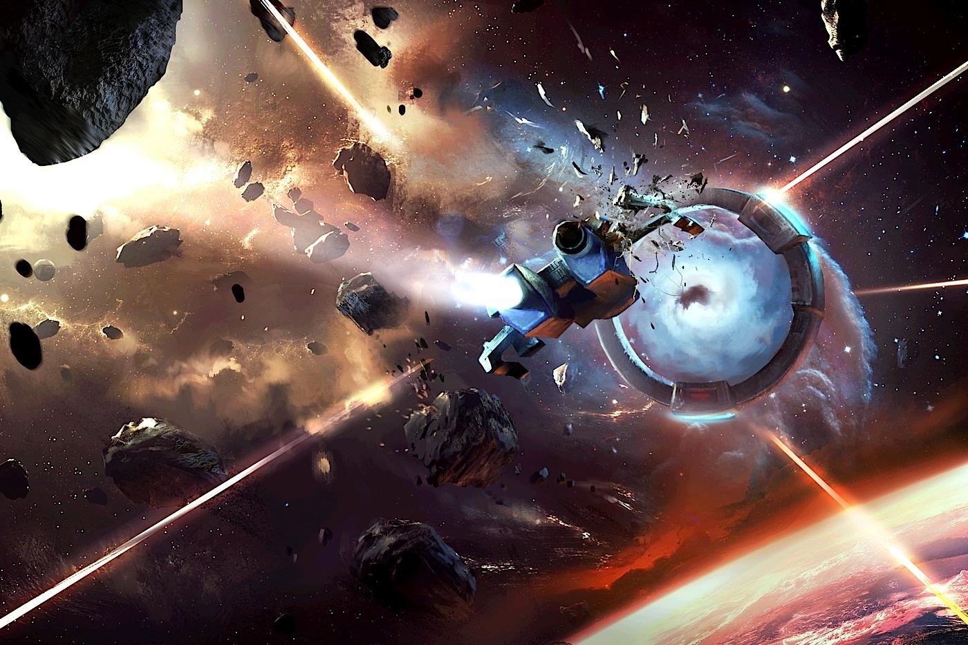 Sid Meier's Starships artwork.