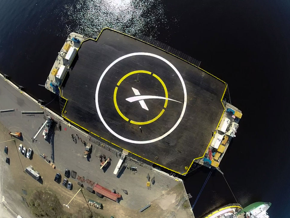 The rocket made it to drone spaceport ship