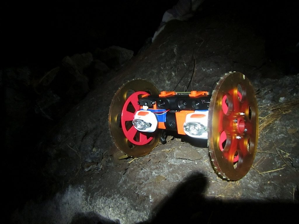 NASA Explores beneath the Earth with VolcanoBot