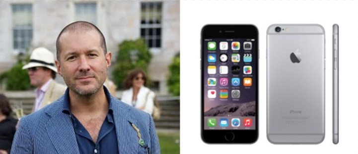 Jony Ive is the man behind many Apple products including the iPhone