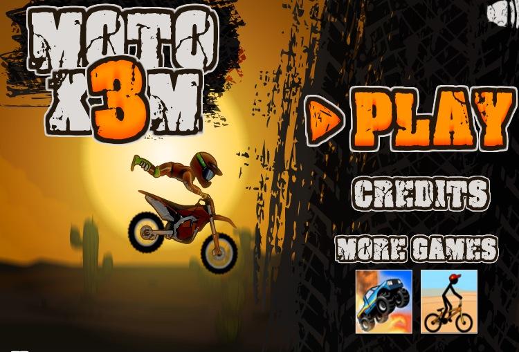 Moto X3M is a great arcade bike game.