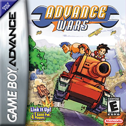 Best GBA Games Advance Wars