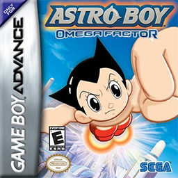 Best GBA Games Astro Boy Omega Factor