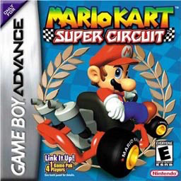 Best GBA Games Mario Kart Super Circuit