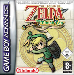 Best GBA Games Zelda The Minish Cap