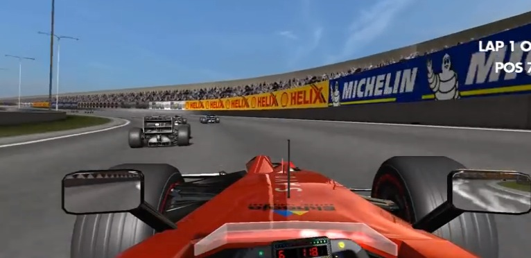 Screen from MotorSport Revolution