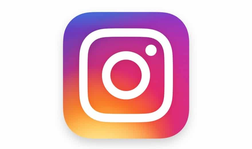 The new Instagram logo, which was changed last month