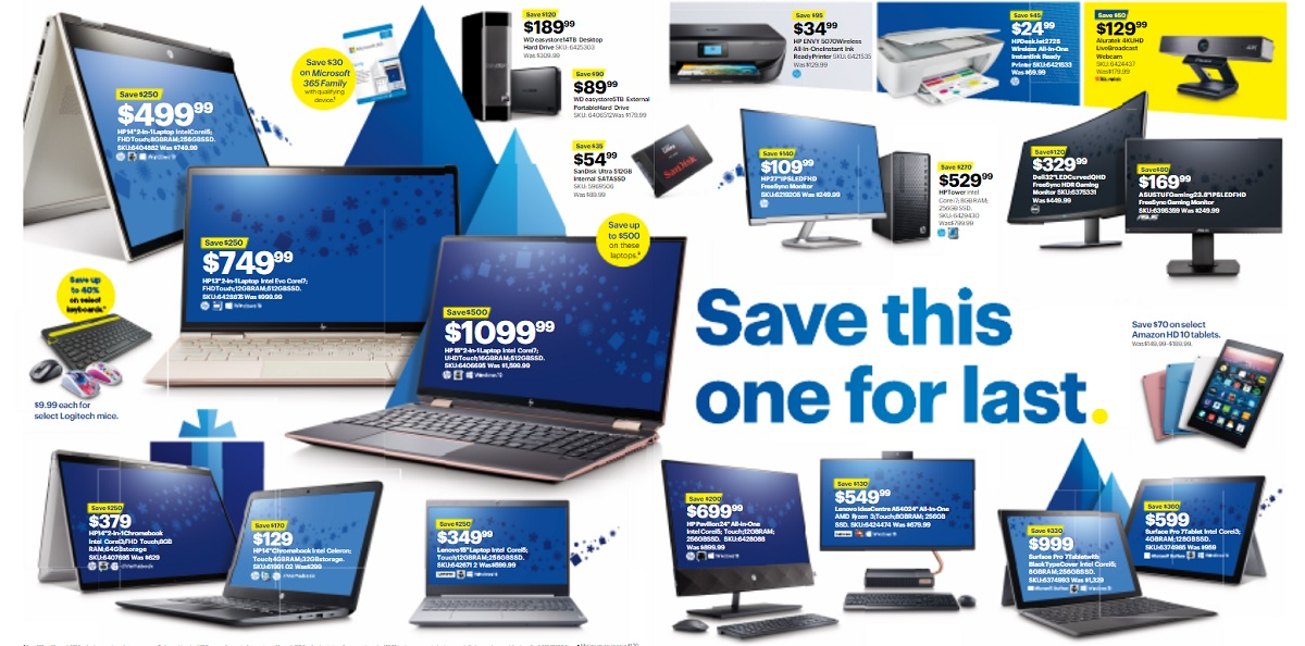 Best Buy Tech Deals Black Friday