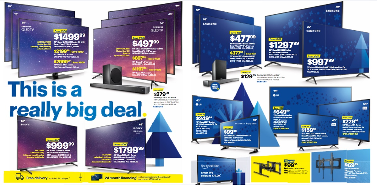 Best Buy Black Friday TV Deals