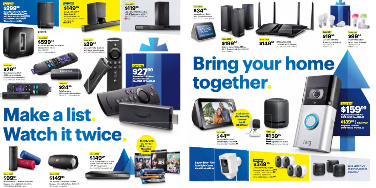 Best Buy Black Friday Tech Deals