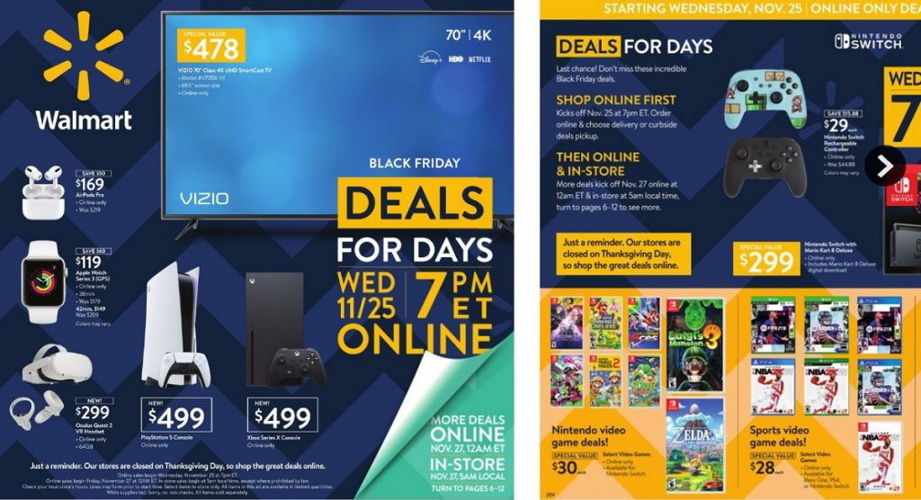 Walmart Black Friday Electronics Deals