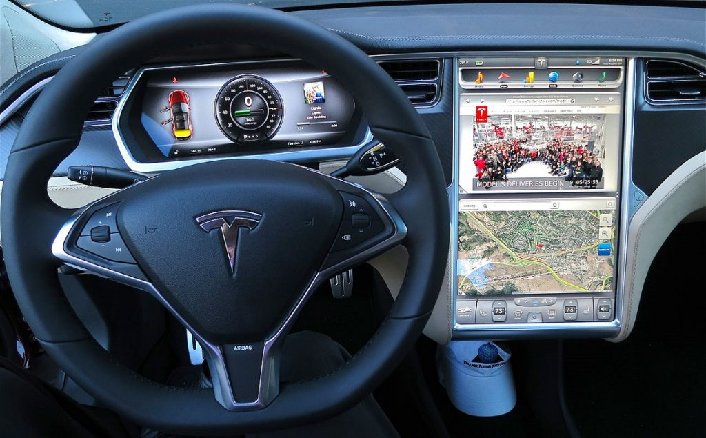 Tesla Motors Music Streaming Services Integration