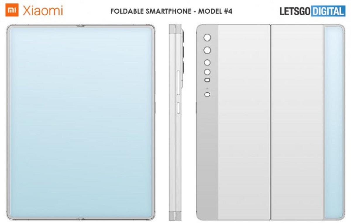 Xiaomi Foldable Smartphone Designs