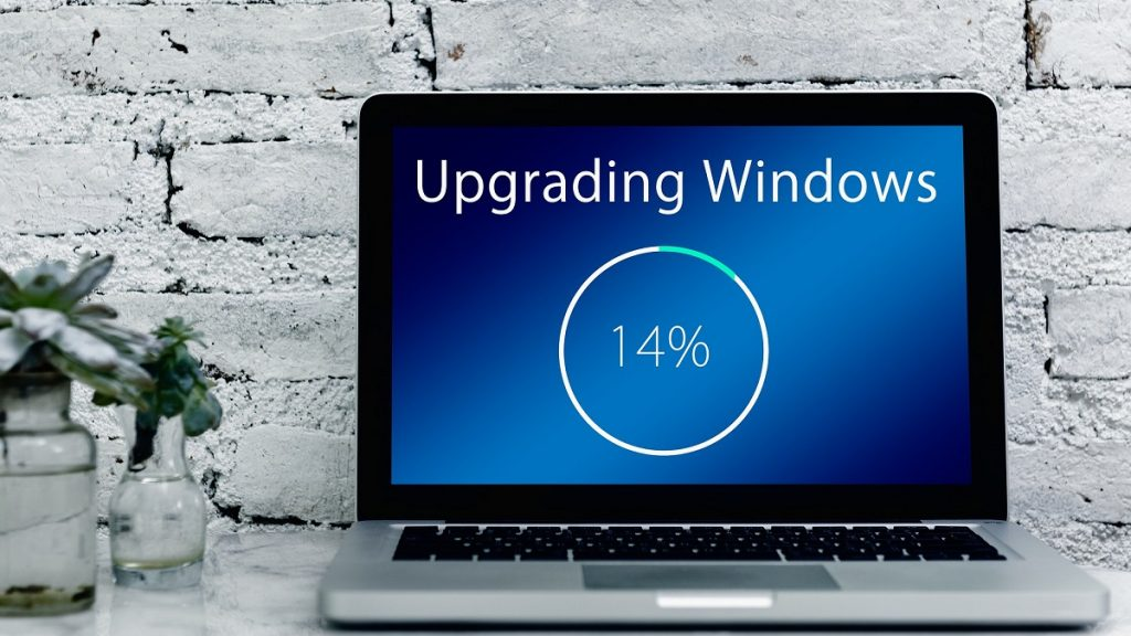 Microsoft Windows 10 Update Progress Bar