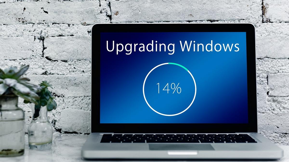 Microsoft Windows 10 Update Progress Bar