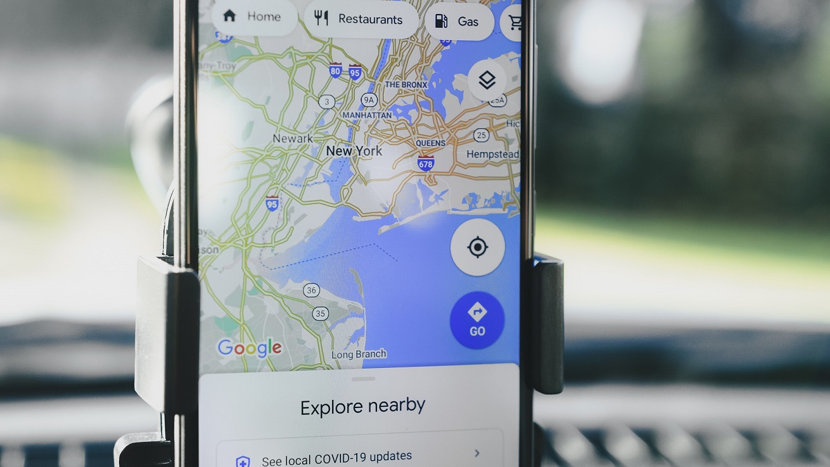 Google Maps Driving Mode Navigation Android Auto