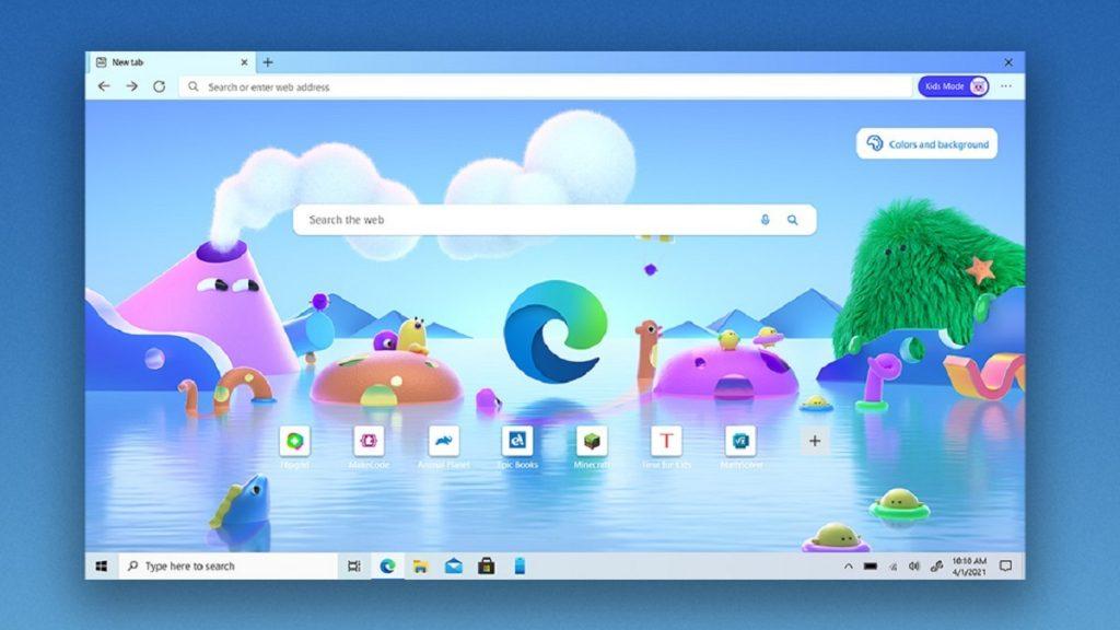 Microsoft Edge Browser v91