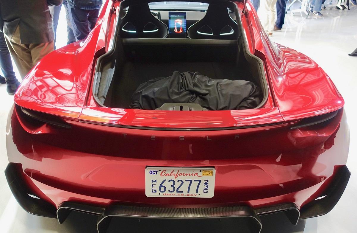 Tesla Roadster SpaceX Package