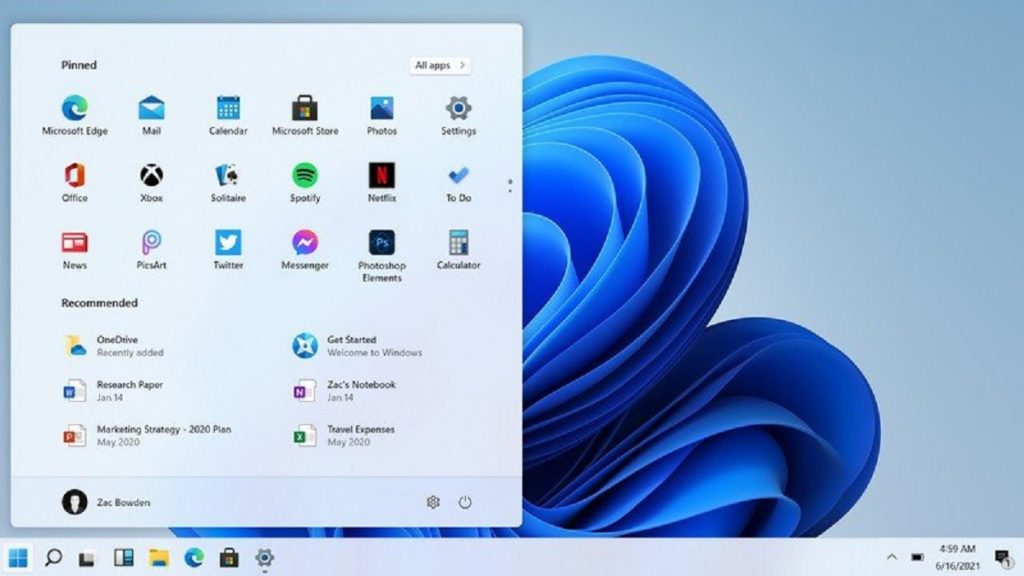 Windows 11Taskbar