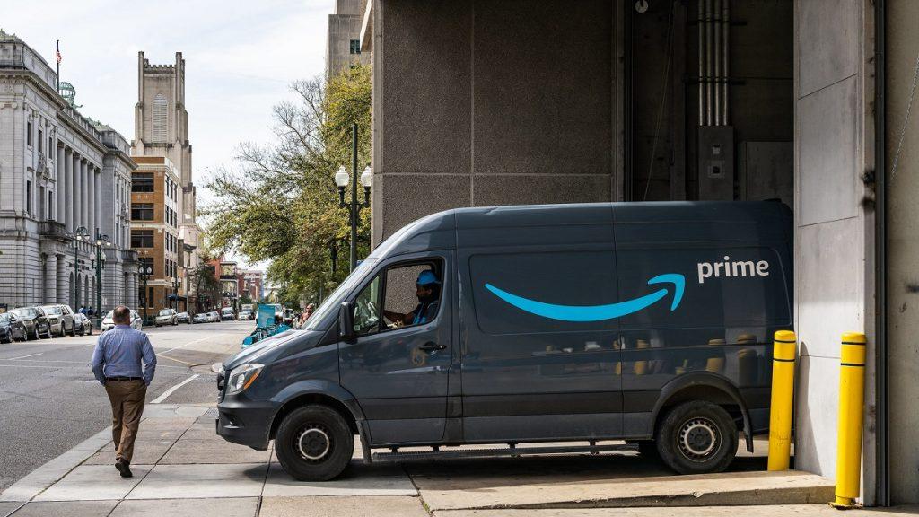 Amazon Delivery Van Drivers Netradyne Driveri