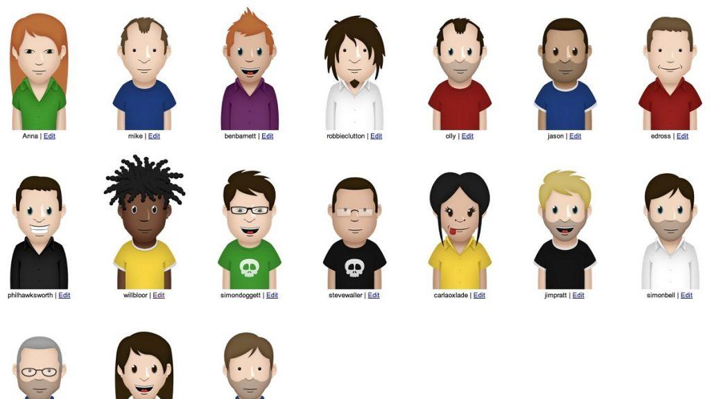 Google Illustrations Discord Customizable Avatars